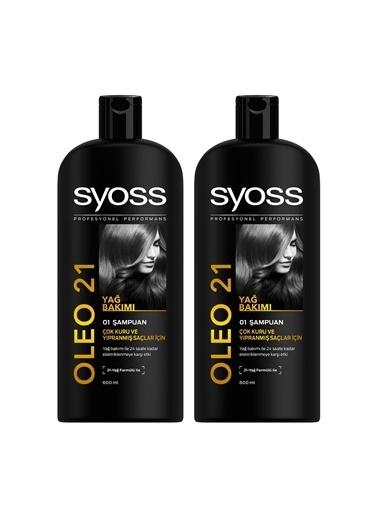 Syoss Syoss Oleo 21 Şampuan 550 Ml X 2 Adet Renksiz